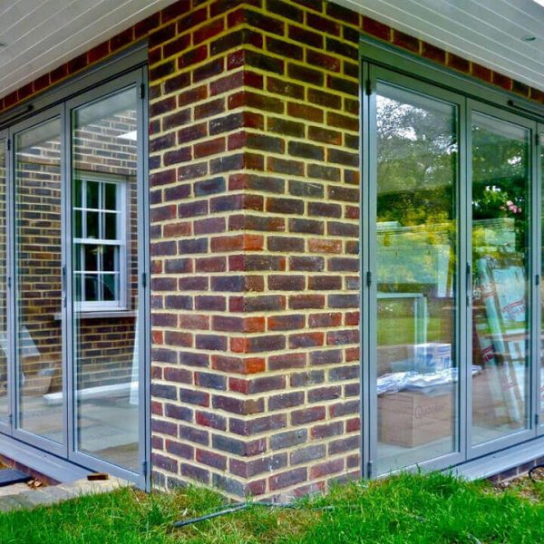 Light Grey bifold doors