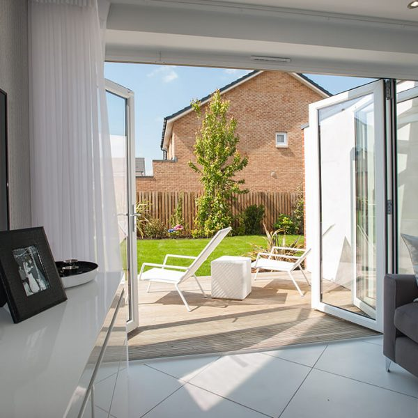 Out Door Living PVC bifold doors