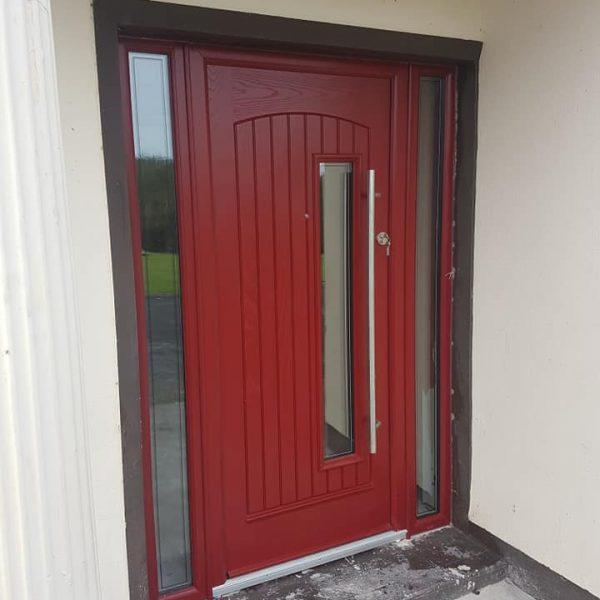 Red Palladio Composite Doors