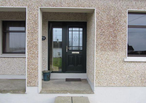 Black Doors Plus Side Panel
