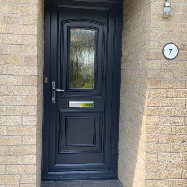 Grey PVC Door Cumberland