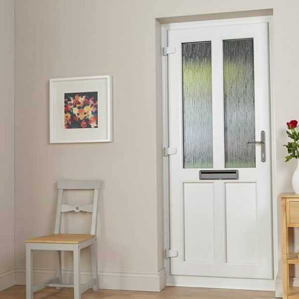 Inside View of PVC Front Doors